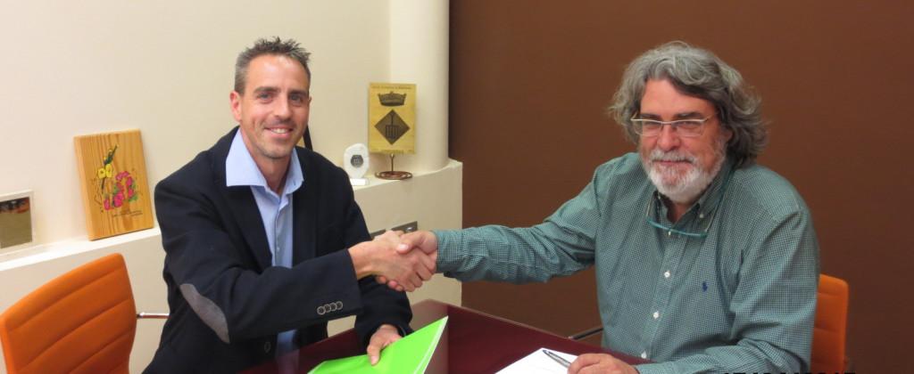 Acord Iguana amb l'Ajuntament de Sant Llorenç d'Hortons