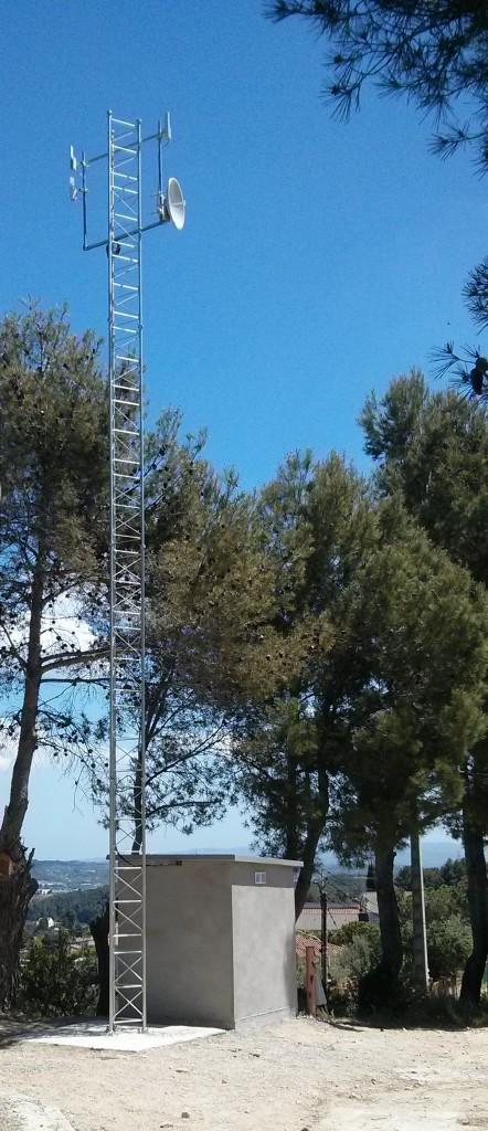 Torre de telecomunicacions de Can Rial a Esparreguera