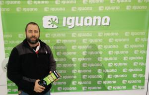 Toni Palacio, guanyador #1AnydeFibra d'Iguana a Masquefa