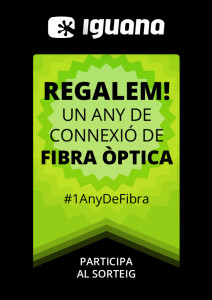 regalem un any de fibra òptica